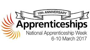 National Apprenticeship Week, 6th to 10th March 2017