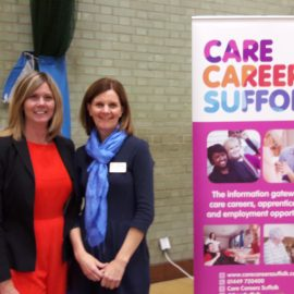 Kerrey joins the team at Care Careers Suffolk