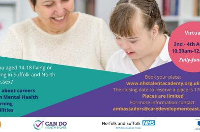 Summer Health & Care Academy – Mental Health and Learning Disabilities